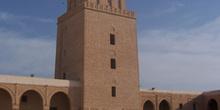 Alminar de la gran mezquita, Kairouan, Túnez