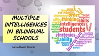 Varied abilities in bilingual classrooms. Session 3. Teacher training course