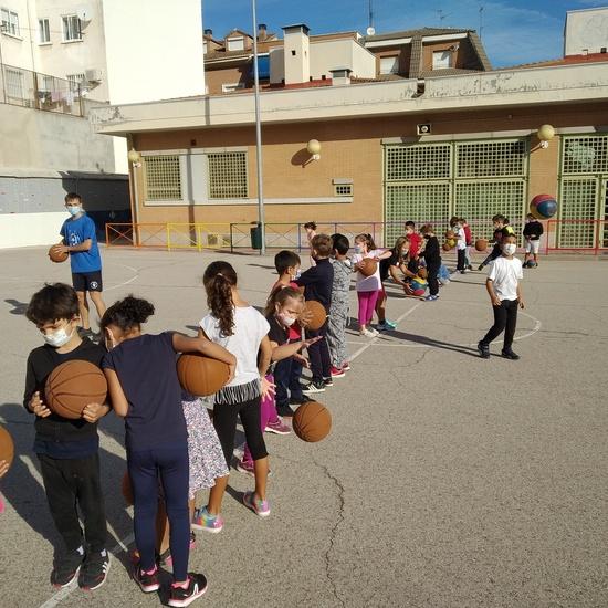 Vista basket segundo B 4