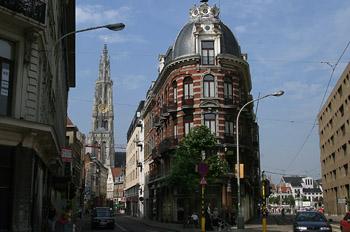 Calle Nacional, Amberes, Bélgica