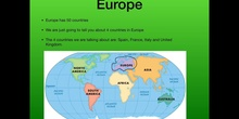 PRIMARIA - 6º - THE  CONTINENTS - SOCIAL SCIENCE
