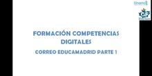 """Competencias digitales """"Correo EducaMadrid"""" 1"""