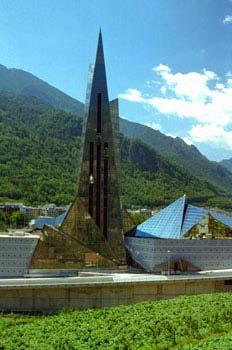 Caldea, Escaldes-Engordany, Principado de Andorra