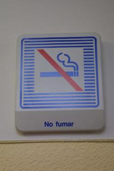 Cartel: No fumar