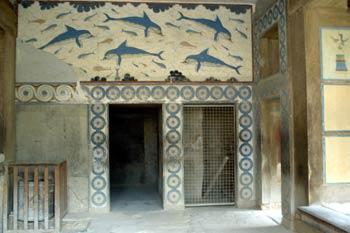Megaron de la Reina en el Palacio de Cnosos, Creta