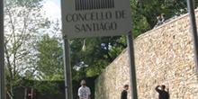 Personas haciendo malabares en el parque de San Domingos de Bona