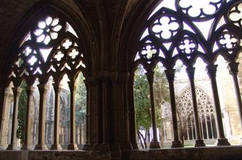 Ventanal del claustro, Catedral de Lérida