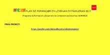 PLAN FORMACION LENGUAS- NORWICH-2017 COMPETENCIAS DOCENTES
