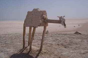 Figura de madera, Túnez