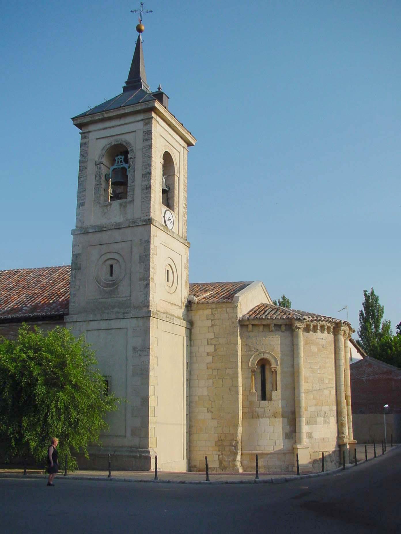 Torre de la iglesia de San Juan Bautista en Talamanca del Jarama