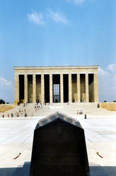 Mausoleo de Ataturk, Ankara, Turquía