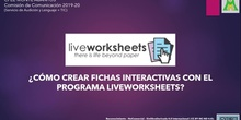 Tutorial de Liveworksheets