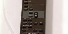 Control remoto VTR-VHS