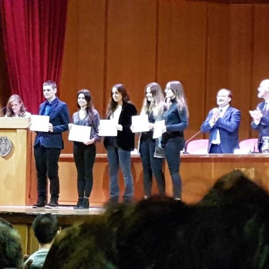 Reconocimiento Académico UCM a nuestro alumno Alex Nita  y al Caustro de profesores del IES Francisco de Quevedo 2