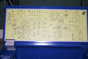Reproductor de casete. Diagrama de bloques