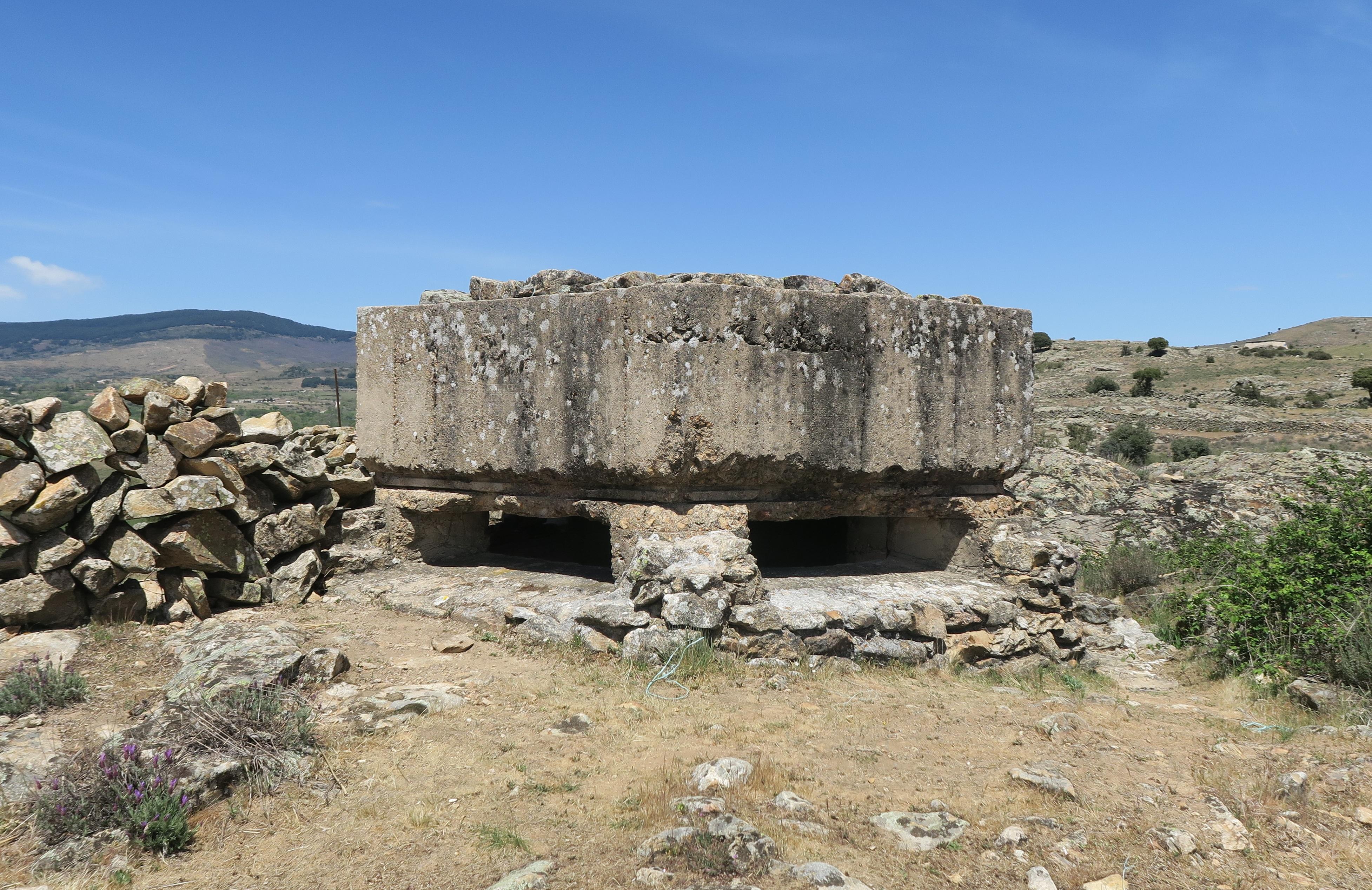 Fortificaciones de la Guerra Civil en Piñuecar-Gandullas (Frente Nacional) 23