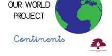 PRIMARIA 1º - CIENCIAS SOCIALES - OUR WORLD_CONTINENTS