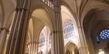 Pilares y bóvedas de la Catedral de Toledo, Castilla-La Mancha