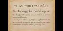 5º sociales El imperio español. Carlos I y Felipe II