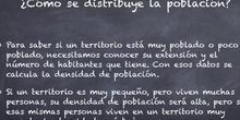 La poblacion de España