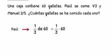 5. PROBLEMAS DE FRACCIONES