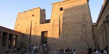 Fachada, Templo de Philae, Egipto
