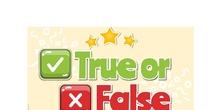 Food vocabulary-True or false