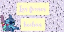 PRIMARIA - 6º - LENGUA - LAS FRASES HECHAS - CARLA Y NOA - FORMACIÓN