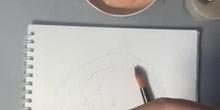 Retrato por planos de color 1 oscuros