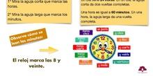 PRIMARIA 3º - MATEMÁTICAS - EL RELOJ ANALÓGICO Y DIGITAL