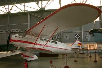 Avioneta, Museo del Aire de Madrid