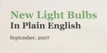 New Light Bulbs in Plain English