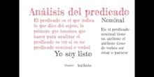 PRIMARIA - 6º - ANÁLISIS SINTÁCTICO - LENGUA - ADRIÁN