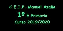 Recuerdo del curso 2019/2020 Alumnos 1º EP