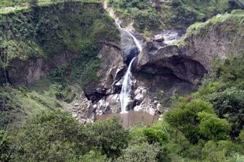 Salto del Agoyán, Baños, Ecuador