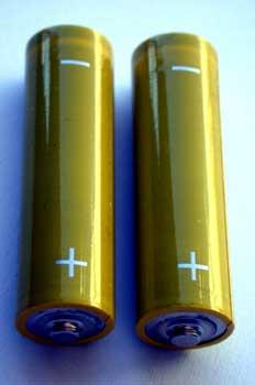 Pilas, baterías