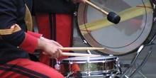 Instrumentos de la banda de música de la Boda Real