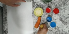Pintamos con alimentos