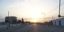 Amanecer en Metlaoui, Túnez