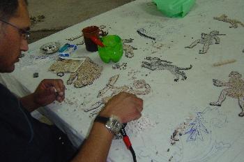Elaboración de mosaicos