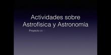 DIVULGACIÓN  Astronomía y Astrofísica
