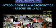 Seminario de Introducción a la Microrobótica - Robots de RESCUE en la RoboCup Junior
