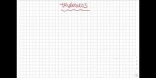 Geometría 2 - tipos de triángulos