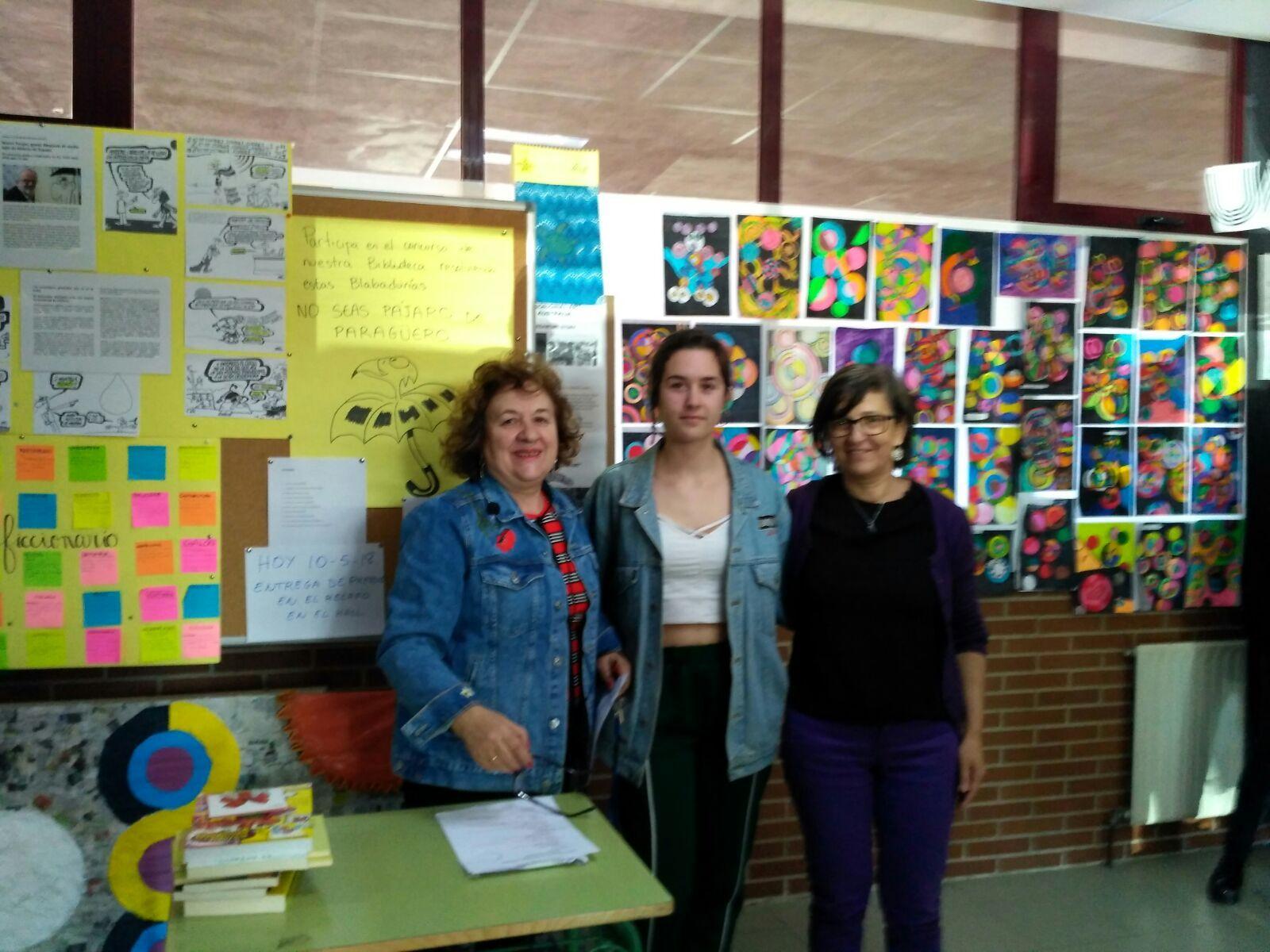 Entrega premios concurso literario y fotografía matemática 4