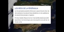 5º sociales el relieve de la península Ibérica: los ríos