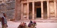 Templo El Khazneh, Petra, Jordania