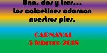 Calcetines carnaval
