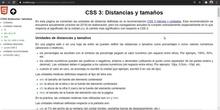 CSS Unidades de distancia y tamaño