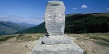 Monumento de Roldán, Roncesvalles, Navarra