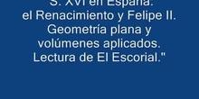 La arquitectura y la geometría (Escorial 1ESO)